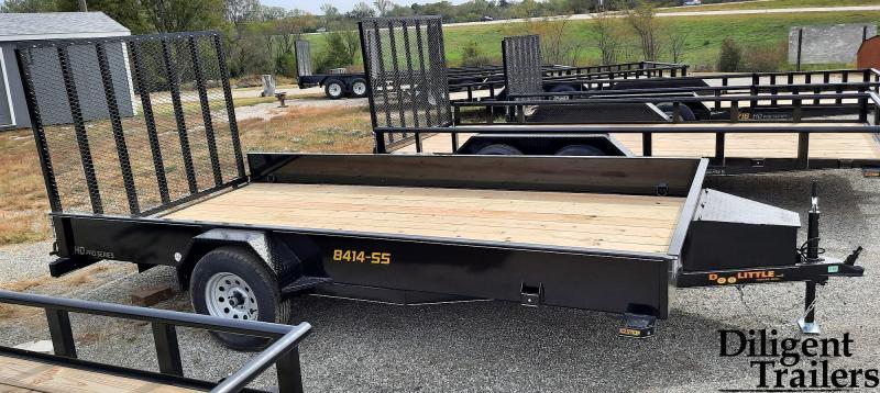 """2022 Doolittle Trailer Mfg 84"""" x14' SS Single Axle 3.5K Utility Trailer"""