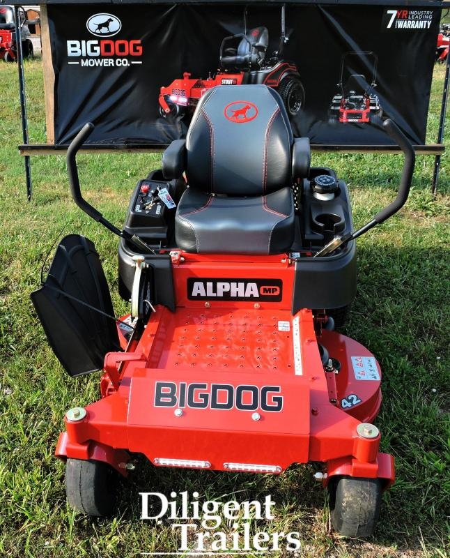 2019 Big Dog Zero Turn Lawn Mower Alpha MP 42""