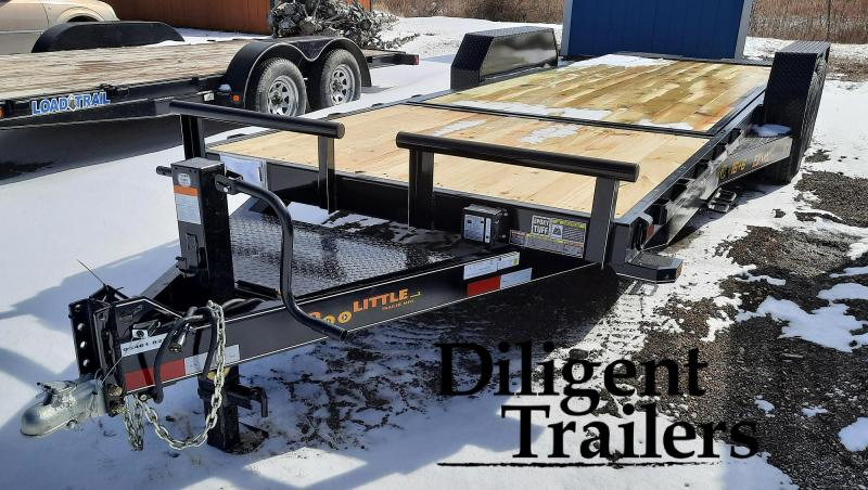 "2021 Doolittle Trailer Mfg 82""x22' Tandem Axle 14K EZ Loader GT Equipment Trailer"