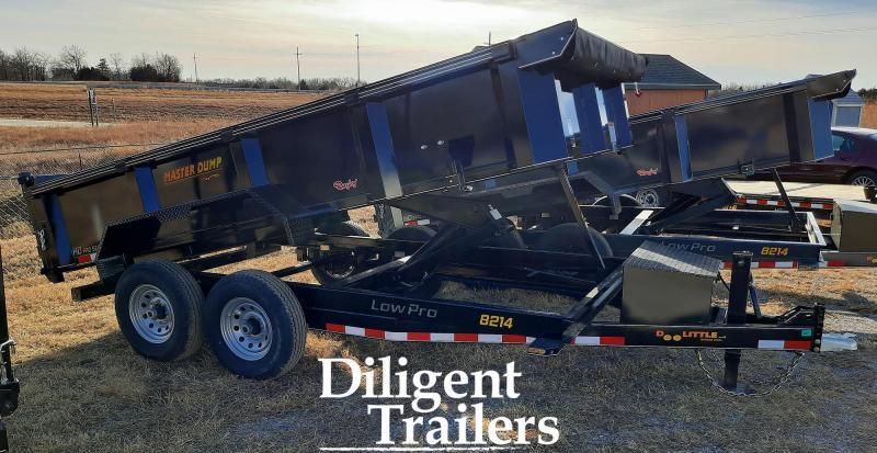 """2021 Doolittle Trailer Mfg 82""""x14' Tandem Axle 14K Dump Trailer"""