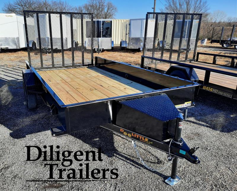 "2021 Doolittle Trailer 77"" x12' SS Single Axle 3.5K Utility Trailer"