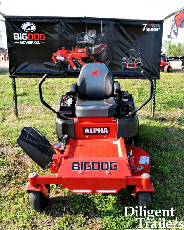 2020 BigDog Alpha 42 Zero Turn Lawn Mower