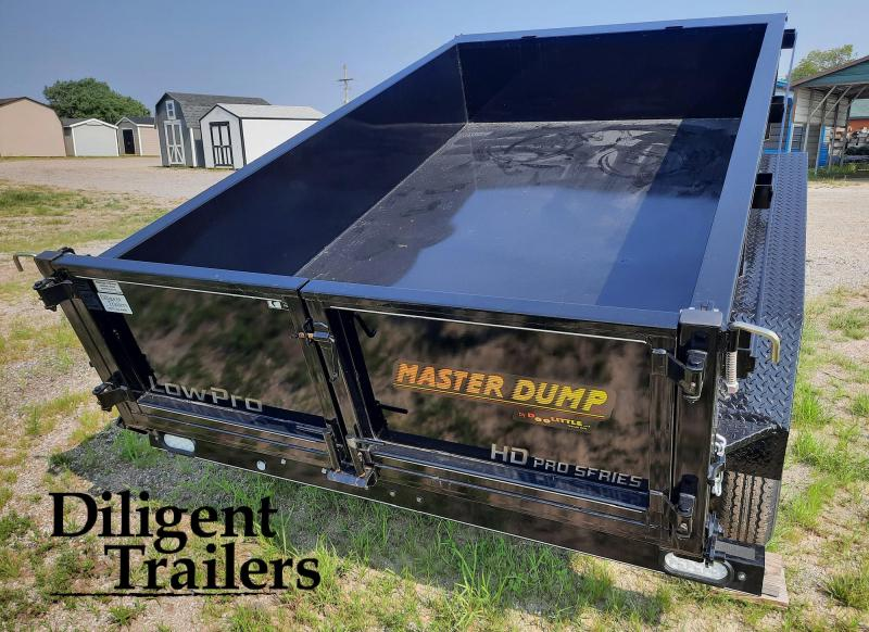 "2021 Doolittle Trailer 72""' x10' Tandem Axle 7K Master Dump Trailer"