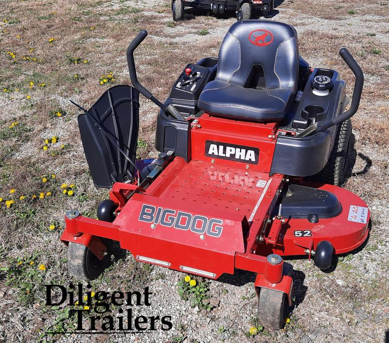 "2019 Big Dog Mower Co Alpha 52"" Zero Turn Lawn Mower"