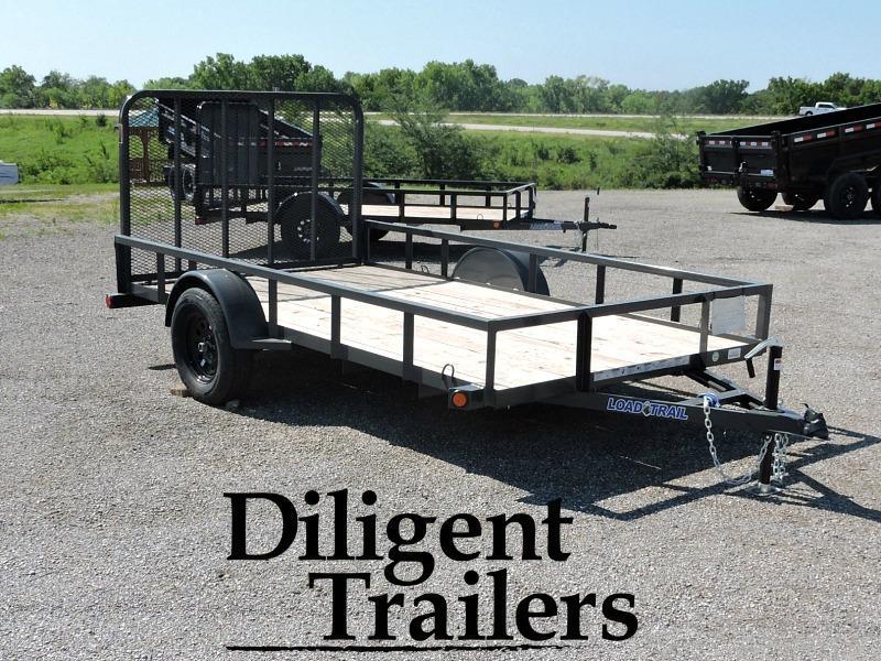 "2018 Load Trail SA12 77"" x12' Utility Trailer"