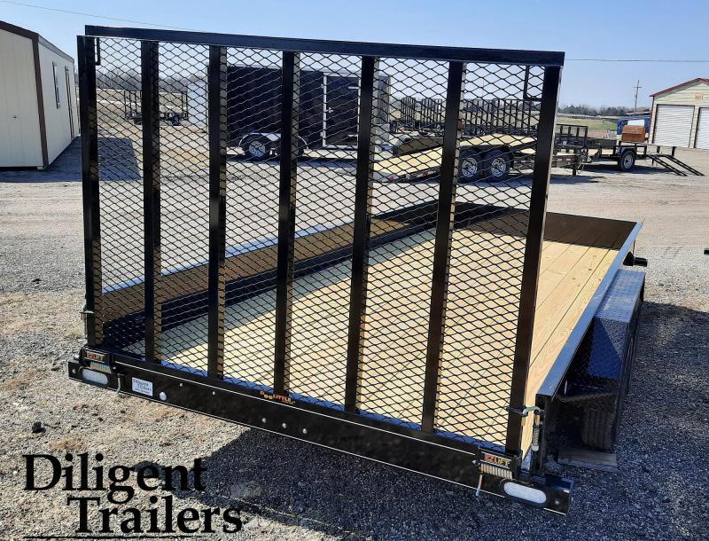 "2021 Doolittle Trailer Mfg 84"" x16' SS Tandem Axle 7K Utility Trailer"