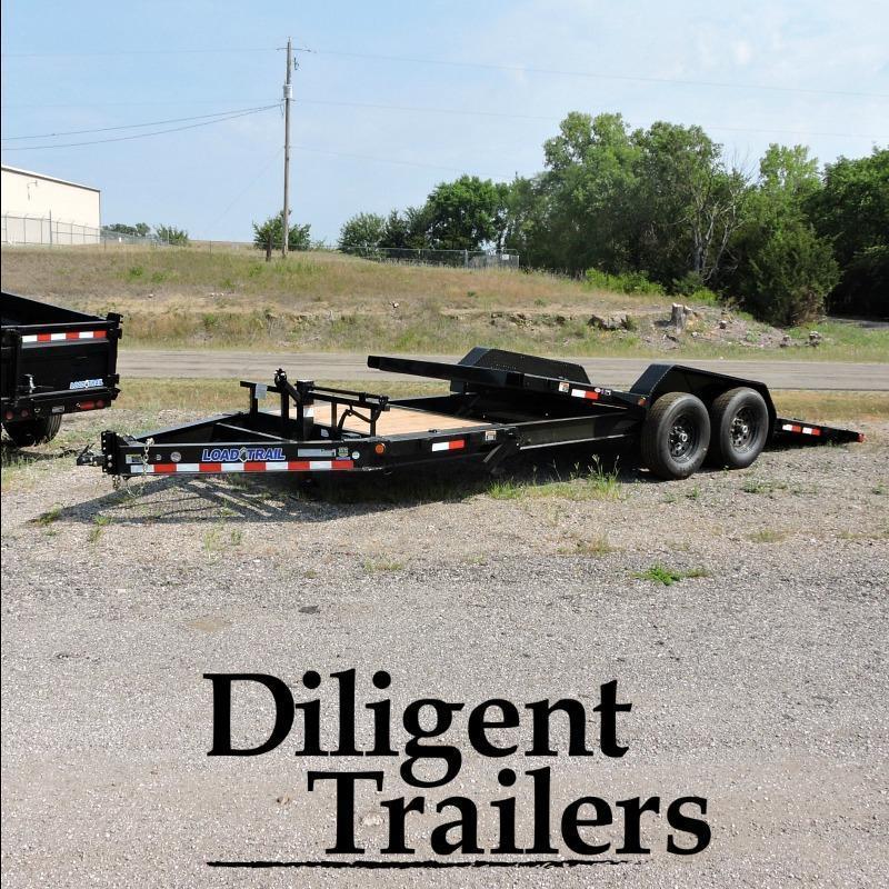 2018 Load Trail 83 Tilt Deck Equipment Trailer
