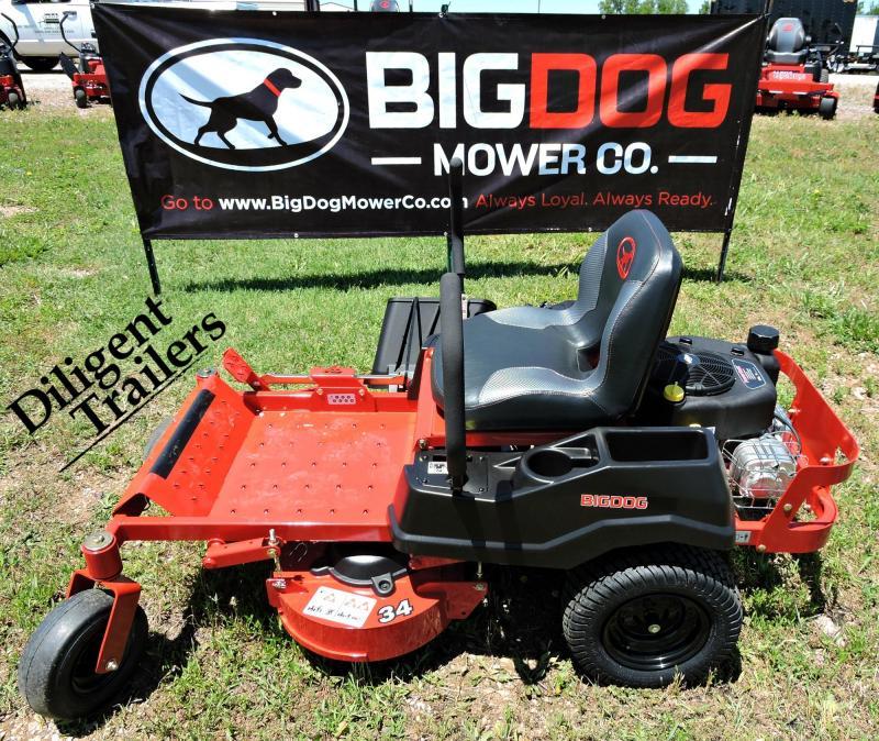 "2019 Big Dog Zero Turn Lawn Mower Rex 34"""