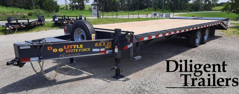 "2022 Doolittle Trailer Mfg 102""x25' Tandem Axle 14K Deckover"