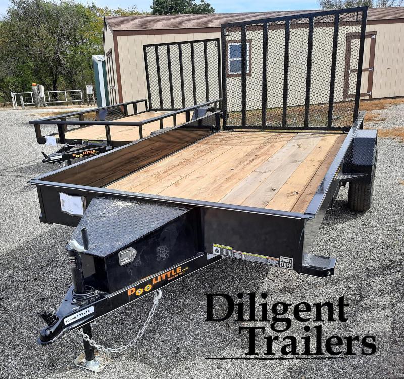 """2022 Doolittle Trailer 77"""" x12' SS Single Axle 3.5K Utility Trailer"""
