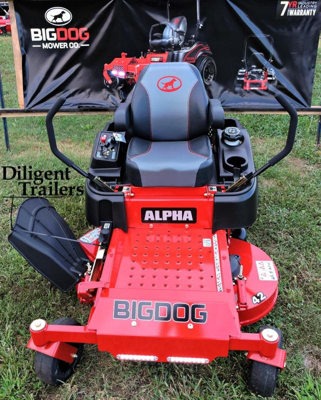 2019 Big Dog Zero Turn Lawn Mower Alpha 42""
