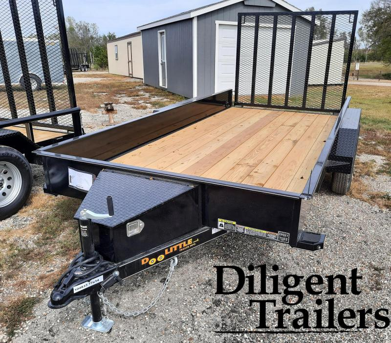 "2022 Doolittle Trailer Mfg 77"" x14' SS Tandem Axle 7K Utility Trailer"