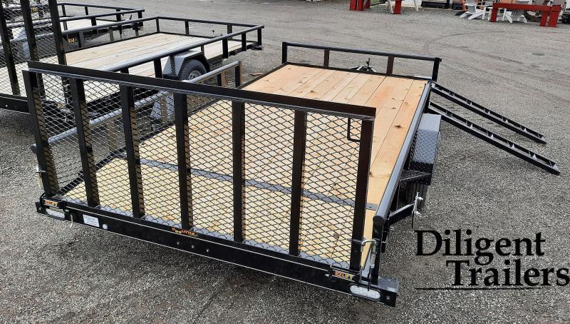 "2021 Doolittle Trailer Mfg 84"" x14' Single Axle 3.5K Utility Trailer"