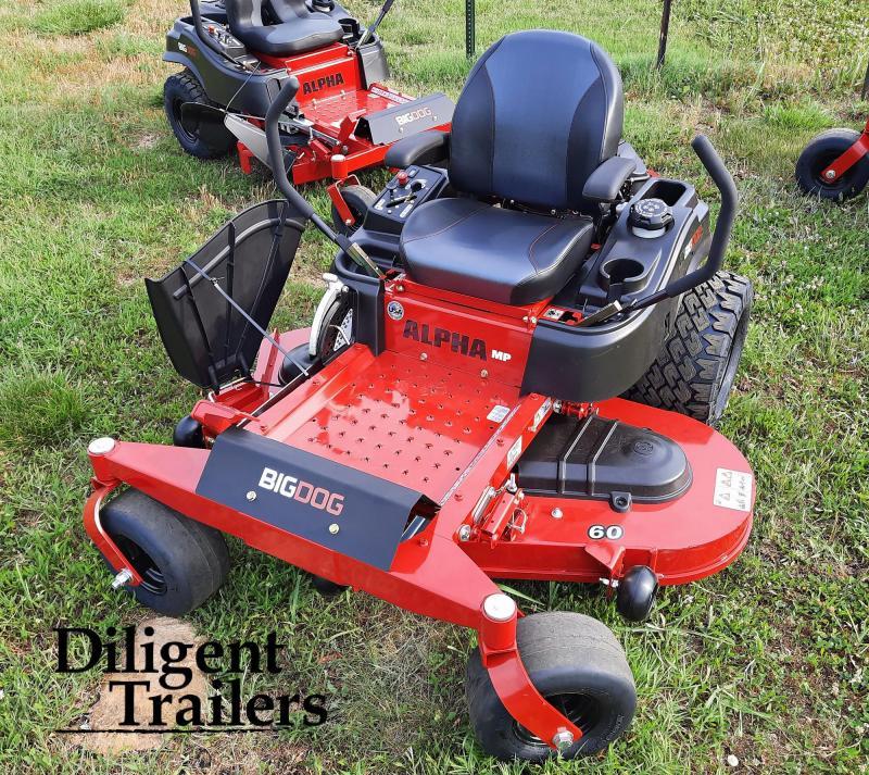 2021 Big Dog Mower Co Alpha MP 60 Zero Turn Lawn Mower