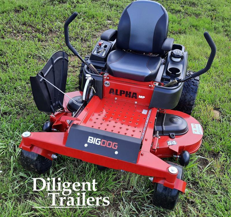 2021 Big Dog Mower Co Alpha MP 54 Zero Turn Lawn Mower