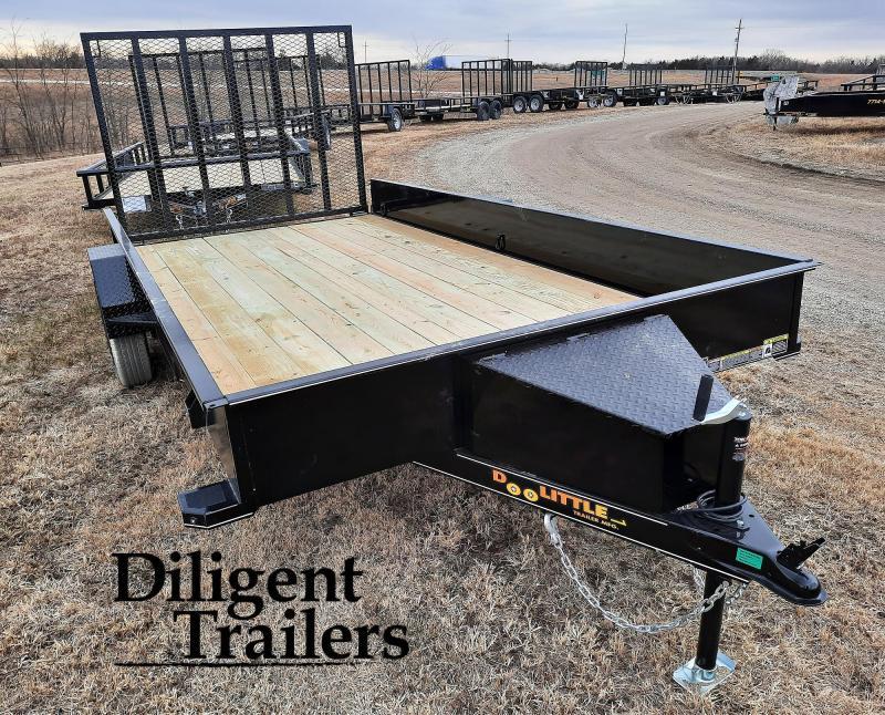"""2021 Doolittle Trailer Mfg 84"""" x14' SS Single Axle 3.5K Utility Trailer"""