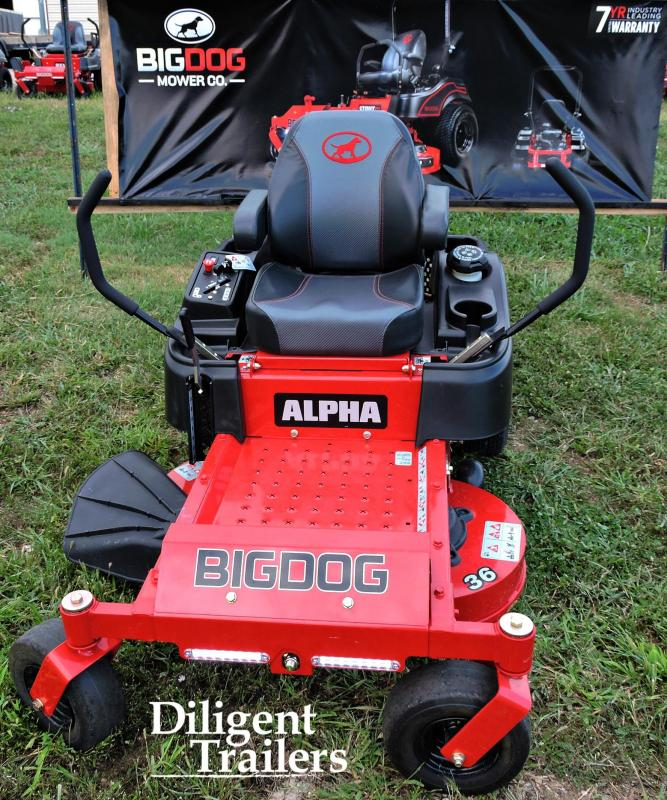 2017 Big Dog Zero Turn Lawn Mower Alpha 36""