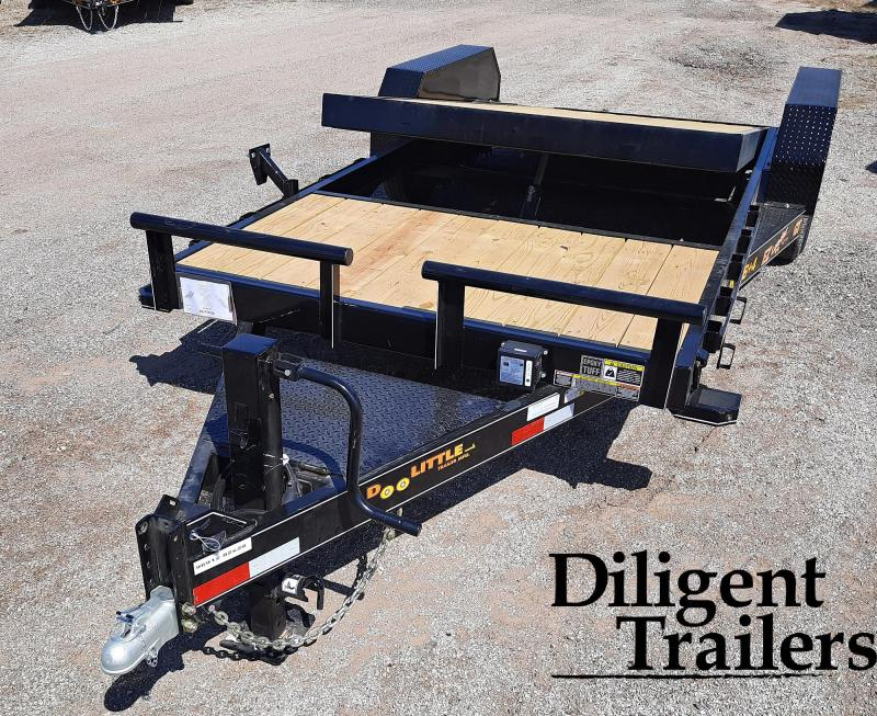 "2021 Doolittle Trailer Mfg 82""x20' Tandem Axle 14K EZ Loader GT Equipment Trailer"
