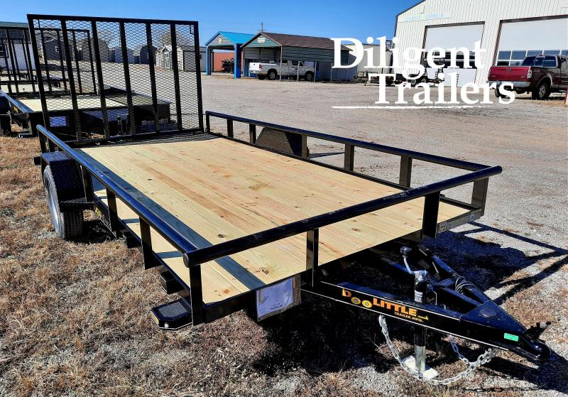 "2021 Doolittle Trailer Mfg 84"" x14' Single Axle 3.5K Utility Trailer"