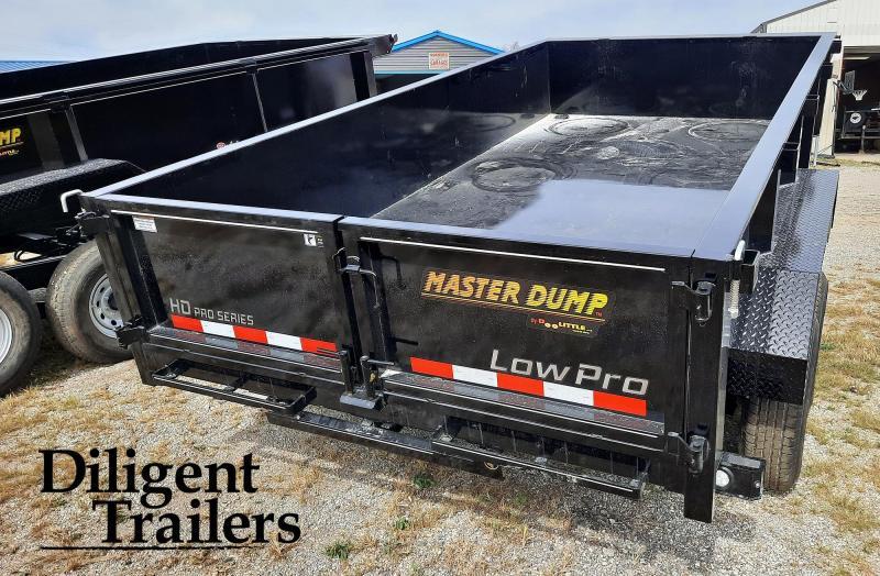 """2022 Doolittle Trailer Mfg 82""""x14' Tandem Axle 14K Dump Trailer"""