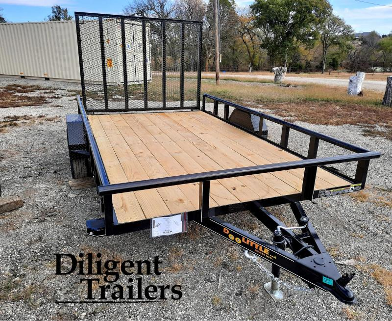 "2021 Doolittle Trailer Mfg 84"" x12' Single Axle 3.5K Utility Trailer"