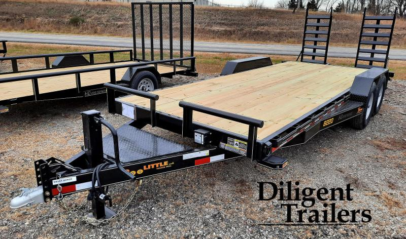 "2021 DOOLITTLE TRAILER 82""X20' XTREME 14K EQUIPMENT TRAILER"
