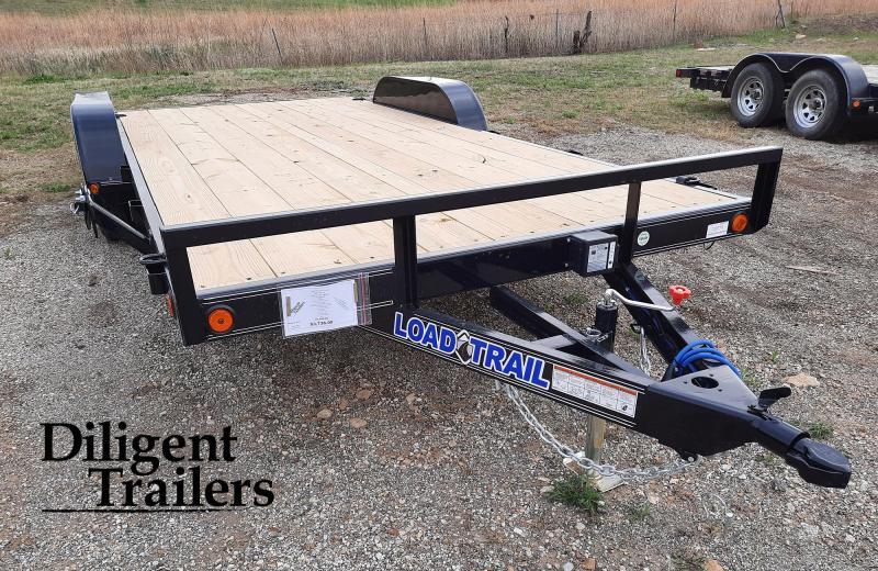 "2021 Load Trail 83"" x18' Tandem Axle 7K Car Hauler Trailer"