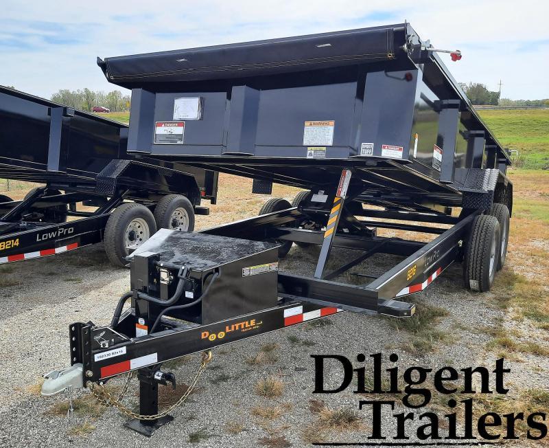 """2022 Doolittle Trailer Mfg 82""""x16' Tandem Axle 14K Dump Trailer"""