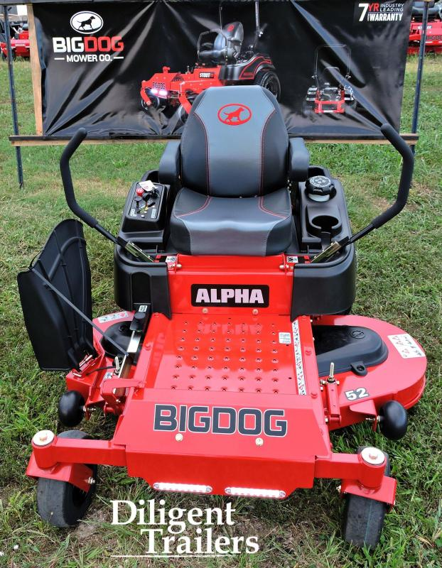 2019 Big Dog Zero Turn Lawn Mower Alpha 52""