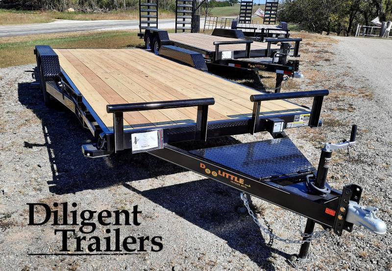 "2021 DOOLITTLE TRAILER 84""X20' XTREME 7K EQUIPMENT TRAILER"