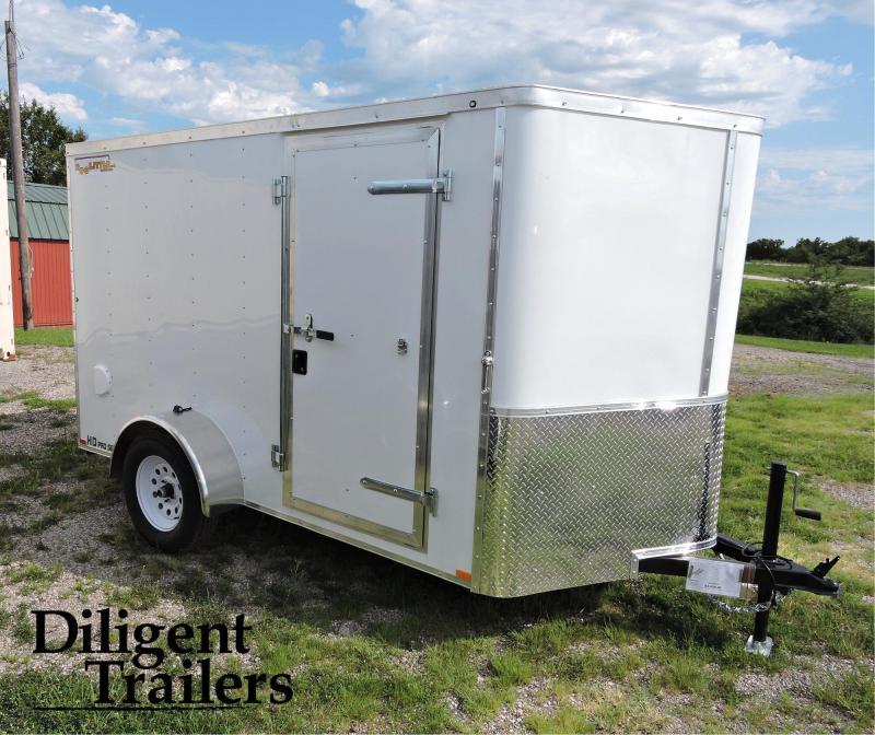 2021 Doolittle Trailer 6'x10' Single Axle 3K Enclosed Cargo Trailer
