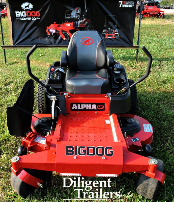 2019 Big Dog Zero Turn Lawn Mower Alpha MP 54""