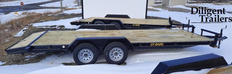 """2021 Doolittle Trailer 84"""" x20' Tandem Axle 7K Car Hauler Trailer"""