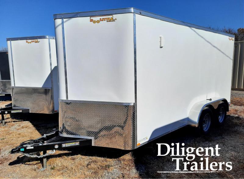 2021 DooLittle Trailer 7'x14' Tandem Axle 7K Enclosed Cargo Trailer