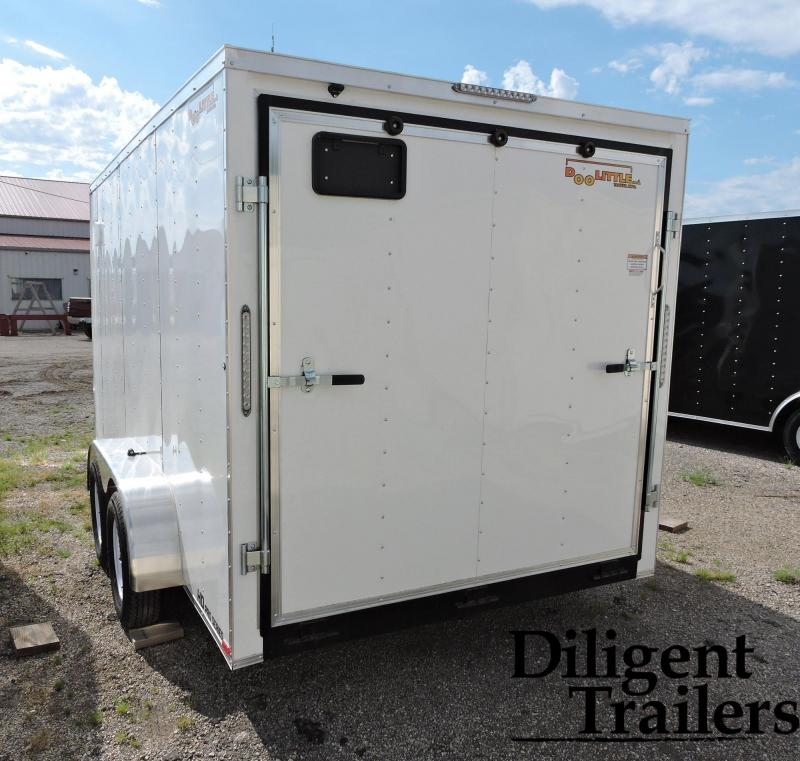 2021 DooLittle Trailer 7'x14' Tandem Axle 7K Enclosed Cargo Trailer