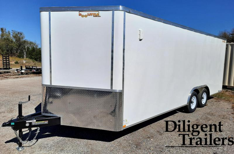 2021 Doolittle Trailer Mfg 8.5' x20' Tandem Axle 7K Enclosed Cargo Trailer