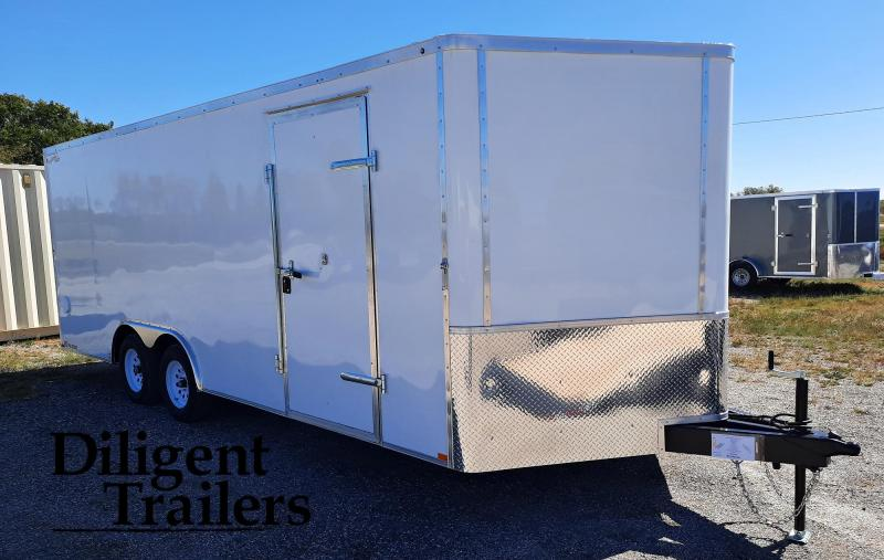 2021 Doolittle Trailer Mfg 8.5' x20' Tandem Axle 7K Enclosed Cargo Trailer