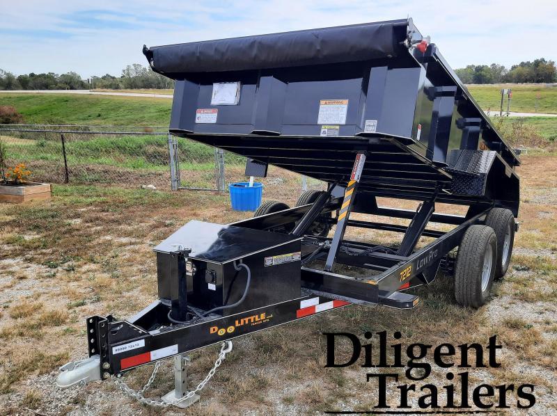 "2022 Doolittle Trailer 72"" x12' Tandem Axle 10K Master Dump Trailer"