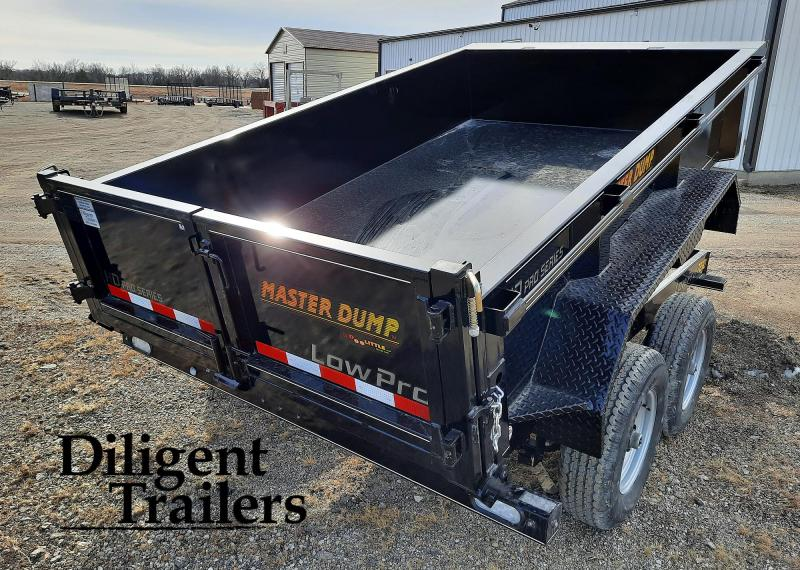 "2021 Doolittle Trailer 72""' x10' Tandem Axle 10K Master Dump Trailer"