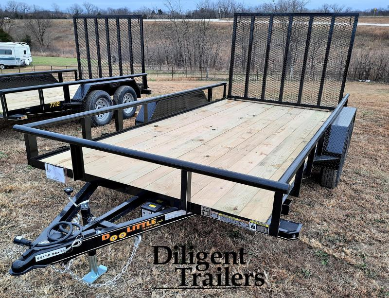 "2021 Doolittle Trailer Mfg 84"" x14' Tandem Axle 7K Utility Trailer"