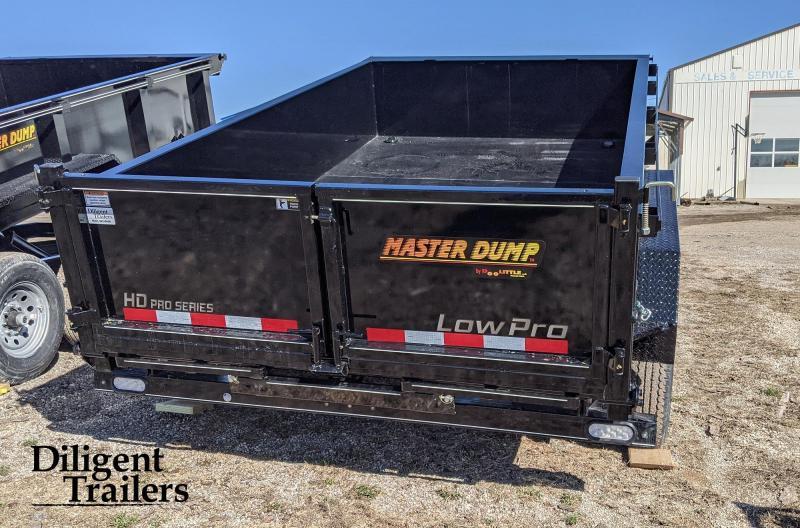 "2021 Doolittle Trailer 82"" x12' Tandem Axle 10K Master Dump Trailer"