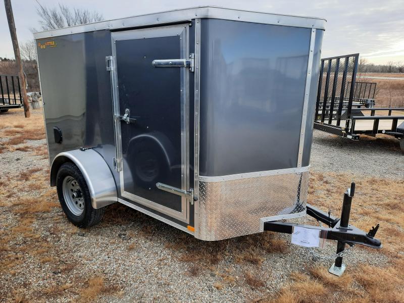 2021 Doolittle Trailer Mfg 5' x8' Single Axle 3.5K Enclosed Cargo Trailer