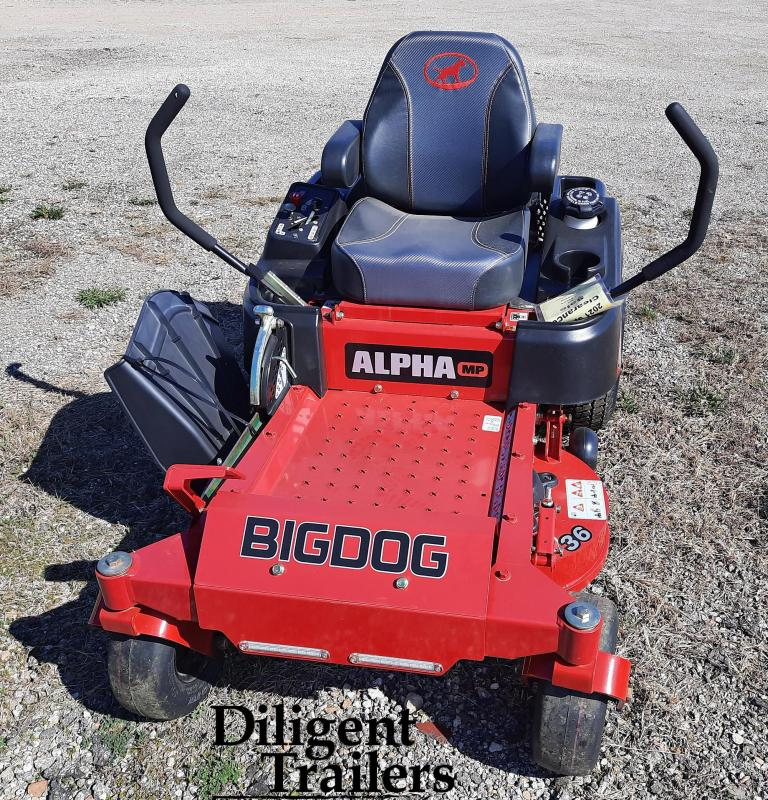 2018 Big Dog Zero Turn Lawn Mower Alpha MP 36""