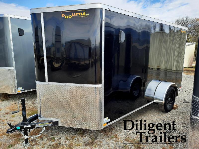 2021 Doolittle Trailer Mfg 6' x12' Single Axle 3.5K Enclosed Cargo Trailer