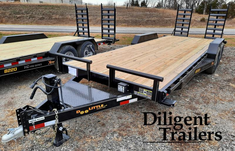 "2021 DOOLITTLE TRAILER 82""X22' XTREME 14K EQUIPMENT TRAILER"