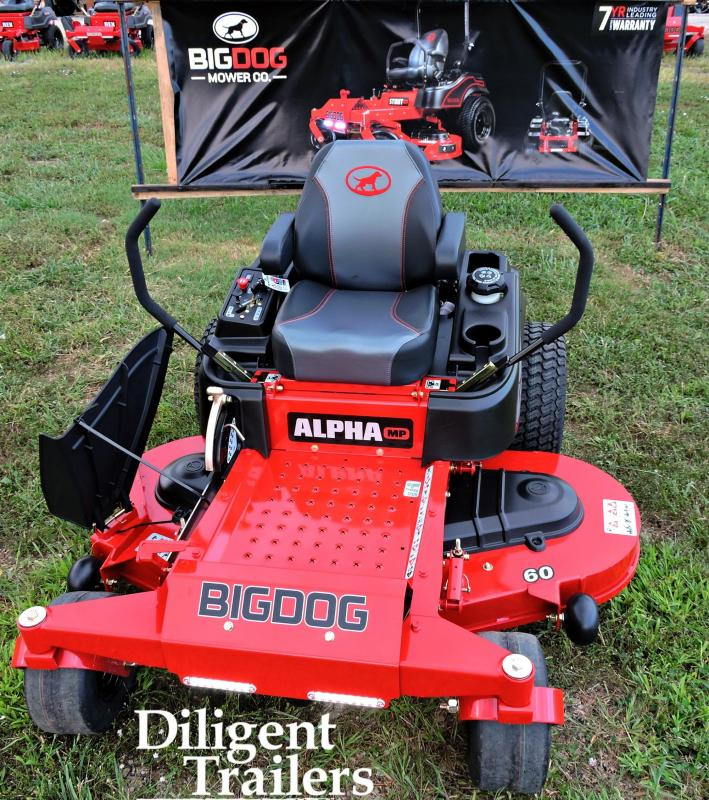 2019 Big Dog Zero Turn Lawn Mower Alpha MP 60""