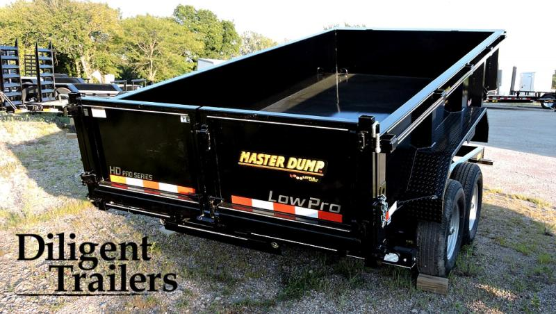 "2021 Doolittle Trailer Mfg 82""x14' Tandem Axle 14K Dump Trailer"