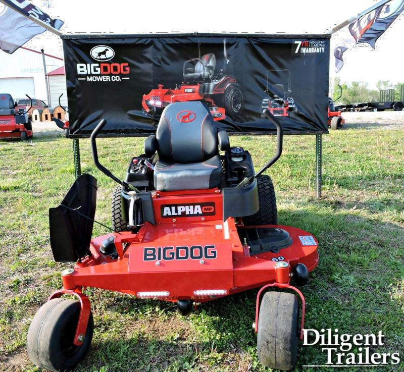 2020 Big Dog Mower Co Alpha MP 60 Zero Turn Lawn Mower