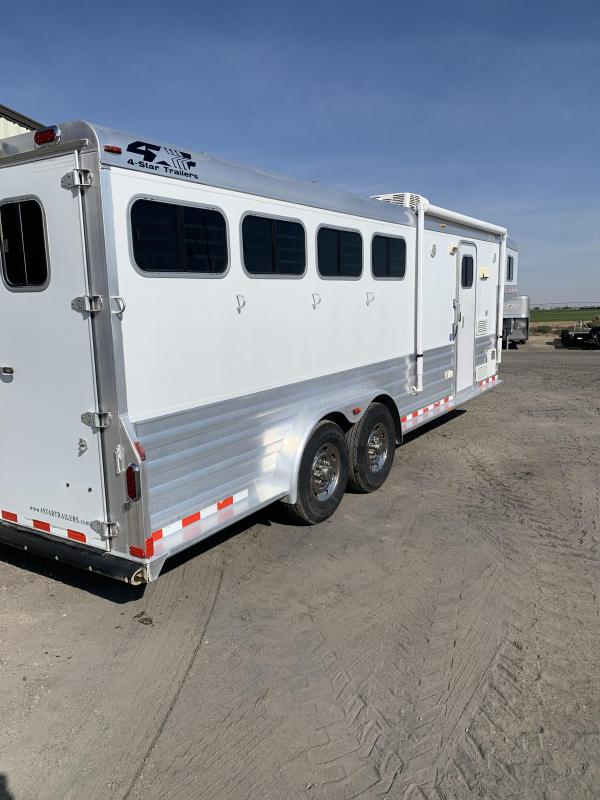 2009 4-Star Trailers 8'SW LQ 4 Horse Trailer