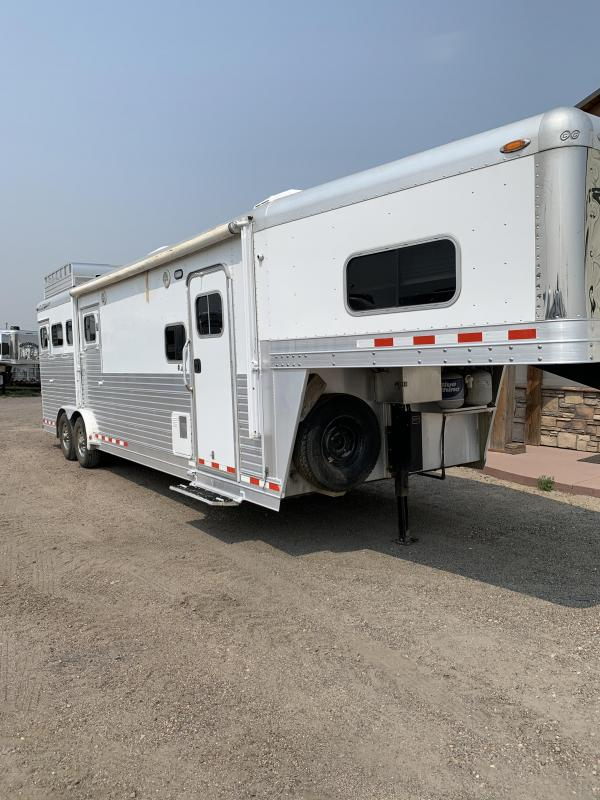 2008 C and C Trailers 10ft Short Wall 4 Horse Trailer